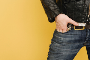 A study has found wearing skinny jeans may be causing health problems around the groin area for many a stylish man. Photo / Thinkstock