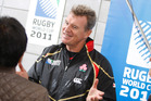 John Kirwan coached Japan at the last World Cup. Photo / Michael Cunningham