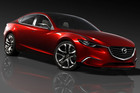 The next-gen Mazda6 will take its design from the well-received Mazda Takeri concept car. Photo / Supplied
