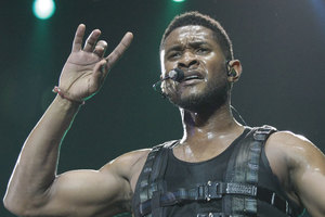 Usher's stepson has been declared brain dead following a jet ski accident. Photo / File photo