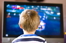 One in six children watch more than 18 hours of television a week. Photo / Thinkstock