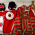 The state dress of the Yeoman of the Guard or as they are popularly known, Beefeaters. Photo / Alan Gibson