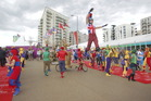 The International Zone of the Olympic Village in London. Photo / Getty Images.