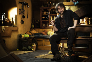Peter Jackson says he wants to shoot more Hobbit material next year. Photo / Supplied