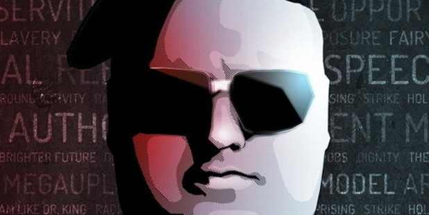 Kim Dotcom's shadow may be a factor in the Government's future. Photo / Twitter