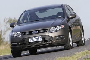 Ford's Falcon is one of several Aussie victims of a downturn in big car demand. Photo / Supplied