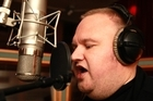 Internet mogul and self-styled 'freedom fighter' Kim Dotcom has released his first song from his new album, 'Mr President'.