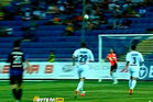 While attempting to cut out a Chernomorets attack, defender Evgen Eliseev swiped the ball towards his own net and over his keeper who made a real hash of the attempted save. Photo / Youtube.