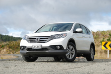 Honda is hoping the CRV will help restore its fortunes. Photo / Jacqui Madelin