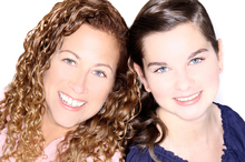 Jodi Picoult with her co-writer/daughter, Samantha Van Leer. Photo / Adam Bouska