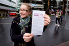 Amy Blowers says freedom of expression is under threat. Photo / Dean Purcell
