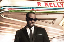 Album cover for Write Me Back by R. Kelly. Photo / Supplied