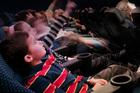 Children in the Auckland Stardome Observatory. Photo / Supplied