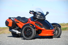 The Can-Am Spyder has the