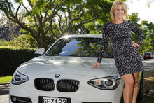 Kathryn Wilson says the 1 Series is perfect for zipping around the inner city but loaded with features to make distance driving more comfortable. Photo / Ted Baghurst