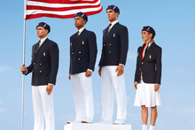 The 530 athletes representing the US will be dressed head to toe in uniforms made in China. Photo / AP