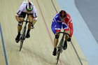 Sir Chris Hoy will be unable to defend his title from Beijing, where he won a trio of golds. Picture / AP