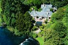 Taupo's Huka Lodge is worth splashing out on. Photo / Jim Eagles