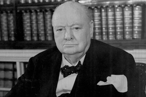 Sir Winston Churchill. File photo / Supplied