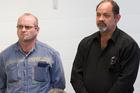 Tony Campbell (left) and Russell Mendoza. Photo / NZ Herald Photo / Paul Estcourt