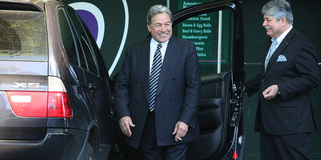 Winston Peters has questioned tax rises that will make a packet of 20 more than $20. Photo / Greg Bowker