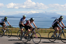 Sarah Lawrence is kicking off her training for the Taupo Cycle Challenge. Photo / File