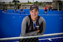 Blacks Sticks' coach Mark Hager. Photo / Natalie Slade