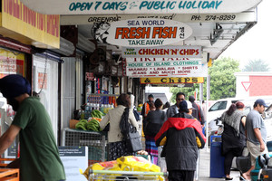 Otara is one of the nation's poorest urban centres. Photo / APN