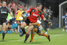 Crusaders hooker Corey Flynn has not given away hopes of an All Black recall. Picture / Geoff Sloan