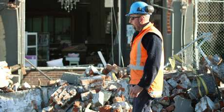 Christchurch tradespeople have joined forces in a new lobby group. Photo / Greg Bowker