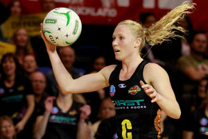 Magic's Laura Langman. Photo / Natalie Slade