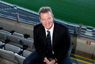 New Blues rugby coach Sir John Kirwan attends a press conference at Eden Park. Photo / Dean Purcell