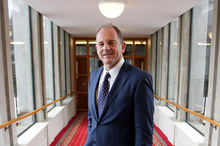 Labour leader David Shearer may have just locked in a spot at becoming New Zealand's next prime minister.  Photo / NZ Herald