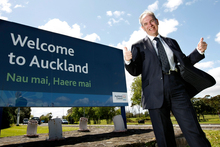 Mayor  Len Brown has achieved a lot for Auckland in a short time. Photo / Steven McNicholl