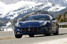 Ferrari's FF is about as serious as you can get for a ski weekender - off the production line, of course. Photo / Supplied