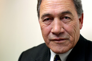 Winston Peters has demanded the Maori Party prove its claim that smoking kills 5000 New Zealanders a year. Photo / Hagen Hopkins
