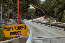 The entrance to the Pike River Coal mine. File photo / Simon Baker