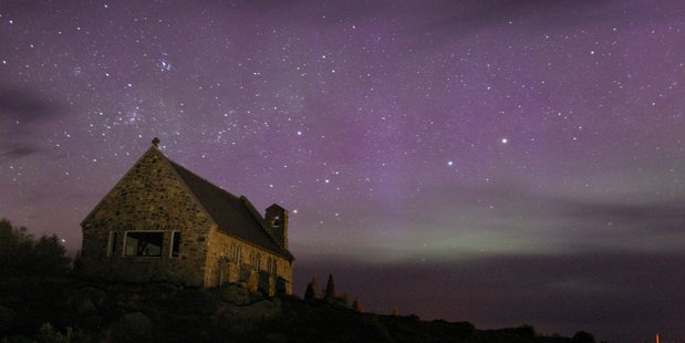 The skies above Tekapo in the Mackenzie Basin remind sight-seers 'how incredible Earth is'. Photo / Supplied