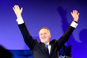 John Key missed out on a comprehensive election victory but he retains the confidence of New Zealanders. Photo / Janna Dixon