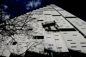 The exterior of the AUT building on the corner of Mayoral Drive and Wakefield street in Central Auckland. File photo / Kenny Rodger