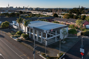 The property is in the centre of one of Auckland's top-flight areas.
