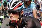 Tour de France podium finisher Frank Schleck has confirmed that a second 'B' sample has tested positive for a banned diuretic but denies any wrongdoing. Photo / AP