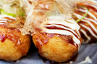 Octopus balls, takoyaki, at Taiko. Photo / Richard Robinson