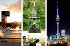 What we love about Auckland: The night markets; Silo and Albert Park; views of the Skytower. Photos / Steven McNicholl/Supplied/Janna Dixon