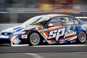 Dutch driver Jeroen Bleekemolen will join Shane van Gisbergen (pictured) in the Stone Brothers Racing Ford Falcon for October's V8 Supercar international. Photo / Christine Cornege.