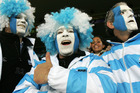 No other side in world rugby knows better than them how to stick to a gameplan than Argentina.  Photo / Ron Burgin