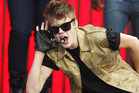 Justin Bieber is due to land in New Zealand later today. Photo / AP