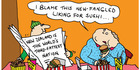 View: Cartoon: New-fangled eating habits