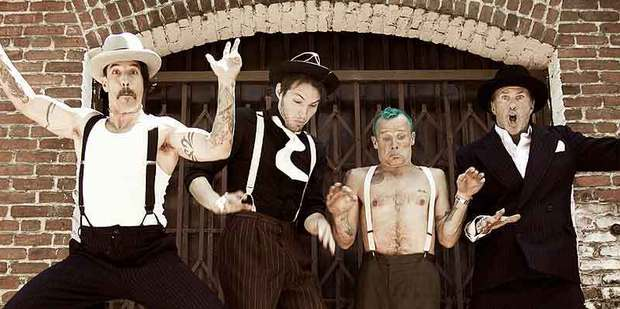 Anthony Keidis and the Red Hot Chili Peppers are returning to Auckland's Vector Arena in January. Photo / Supplied