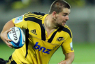 Dane Coles typified the Hurricanes' spirit in a spirited game by hurtling into everything. Photo / Getty Images